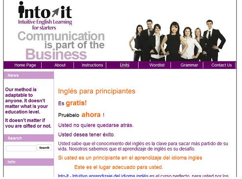 Into it english